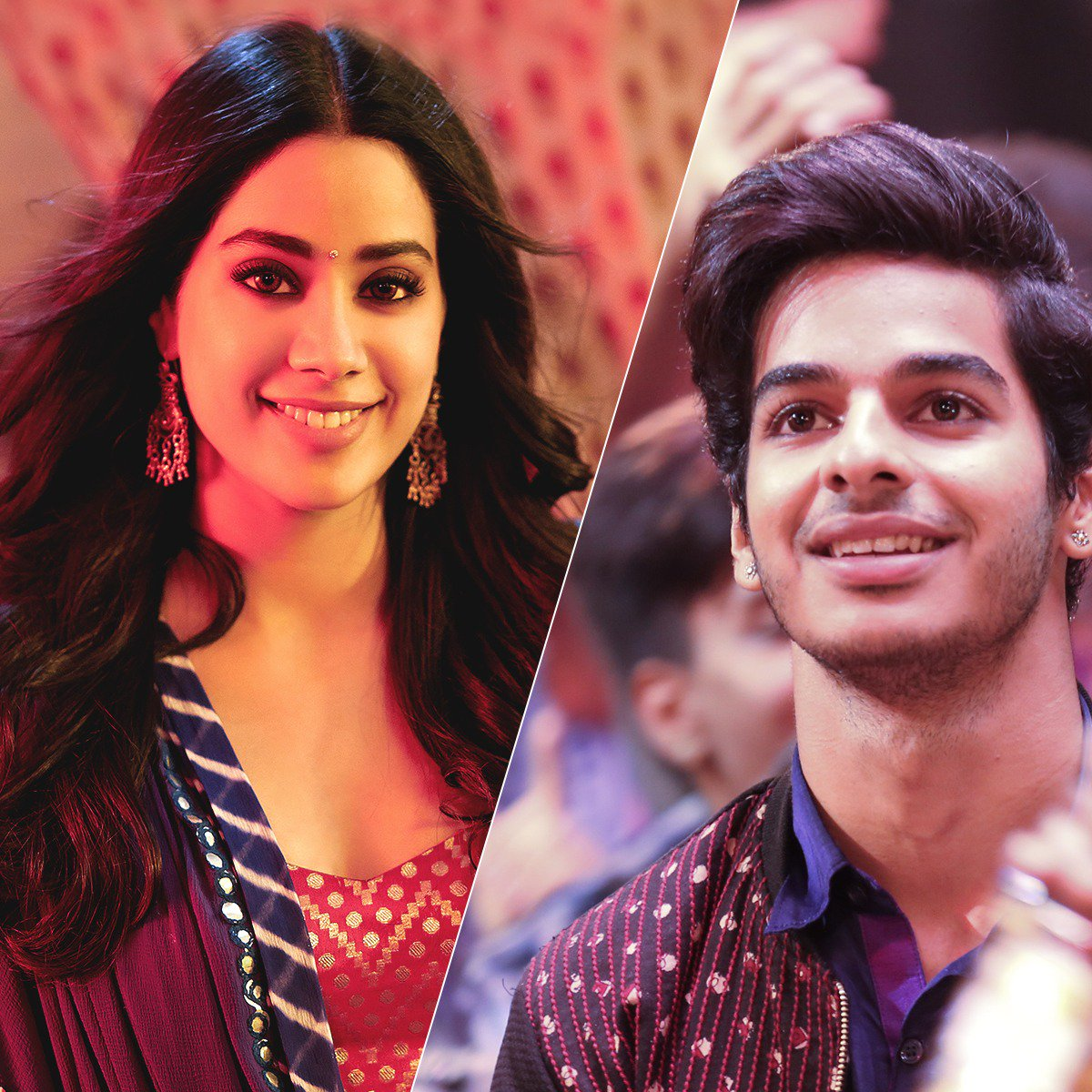 Dhadak : Zingaat Song Janhvi Kapoor and Ishaan Khatter ( google images)