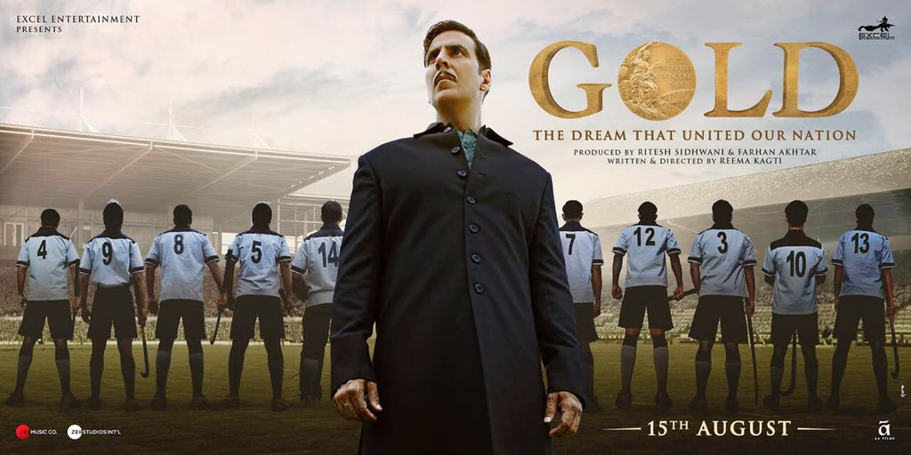 "old Trailer Review : The film traces the ""golden era"" of Indian hockey (Akshay Kumar)"