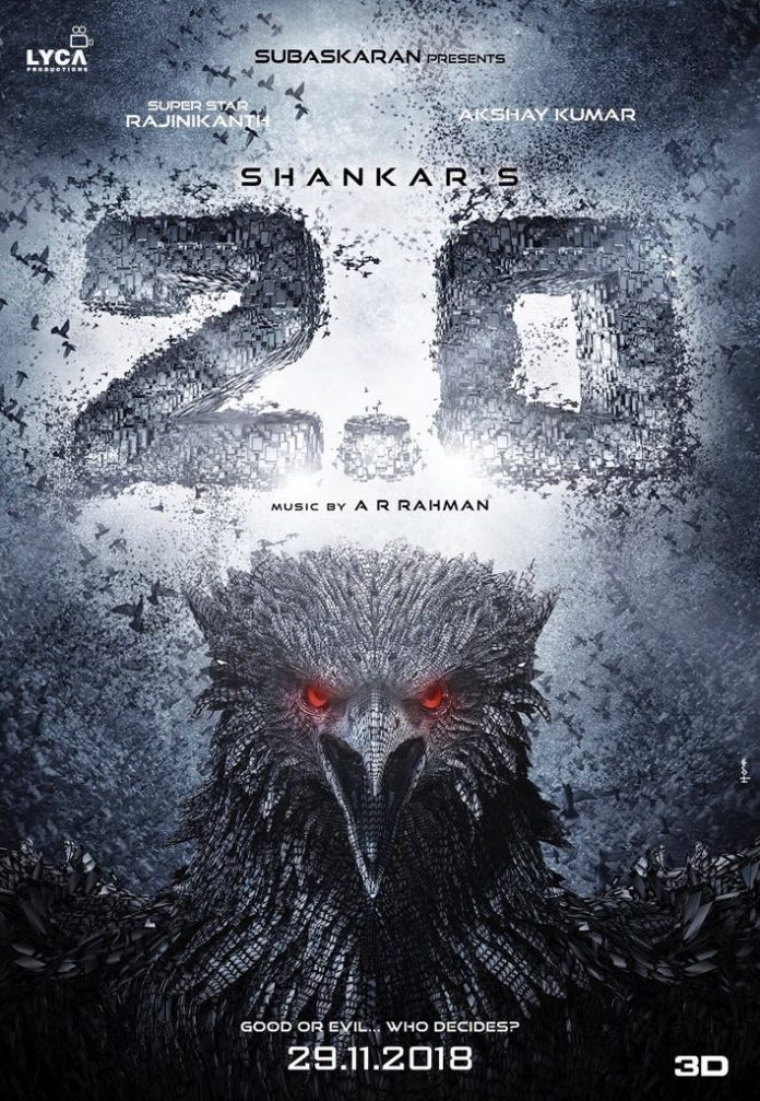 Rajinikanth And Akshay starrer 2 Point 0 Releasing This Year ( google images )