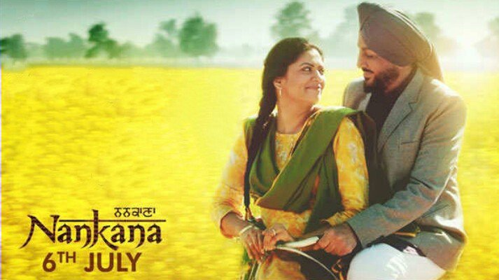 Nankana Movie Review : Gurdas Maan and Kavita Kaushik ( google images )