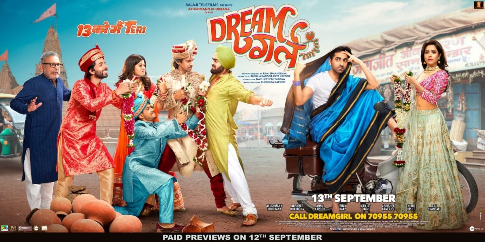 Dream Girl Box Office Collection Day 2