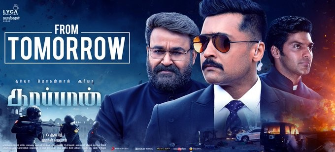 Kaappaan Box Office Collection Day 8