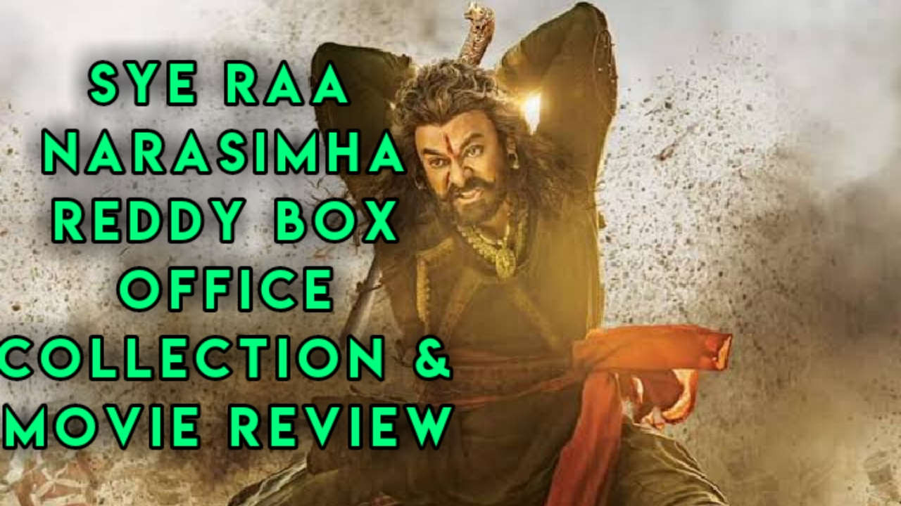 Sye Raa Narasimha Reddy Box Office Collection Day 1