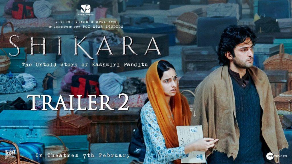 Shikara Box Office Collection Day 3