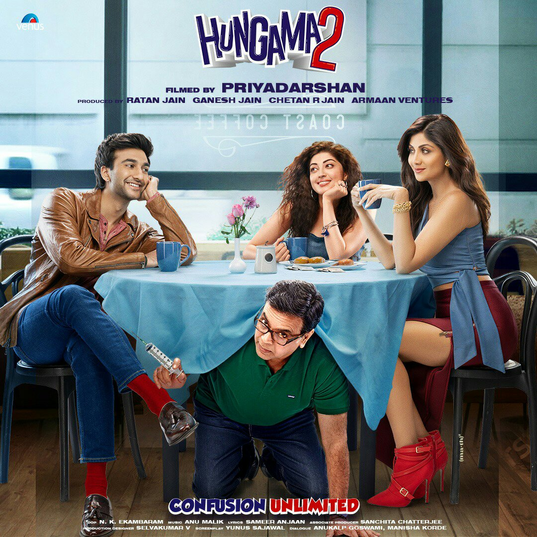 Hungama 2 Poster