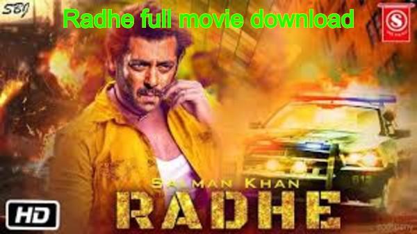Radhe full movie download HD