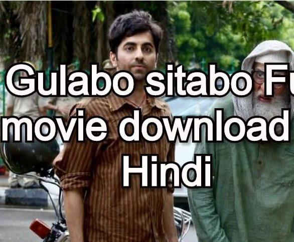Gulabo sitabo Full movie download in Hindi