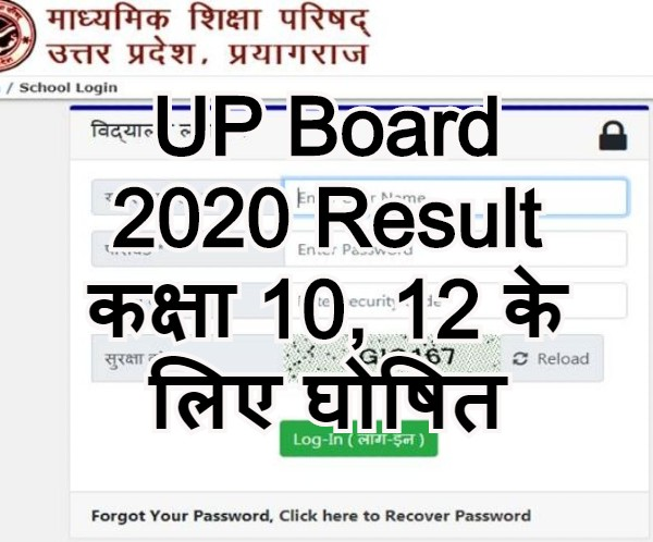 UP Board 2020 Result