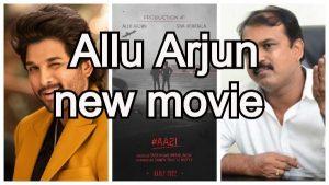 Allu Arjun new movie