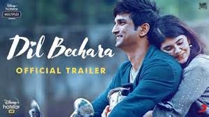 Dil Bechara movie download in Tamil