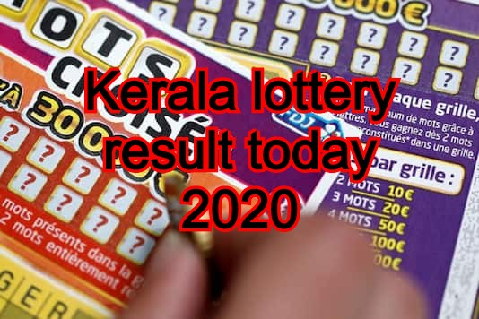 Kerala lottery result today 2020