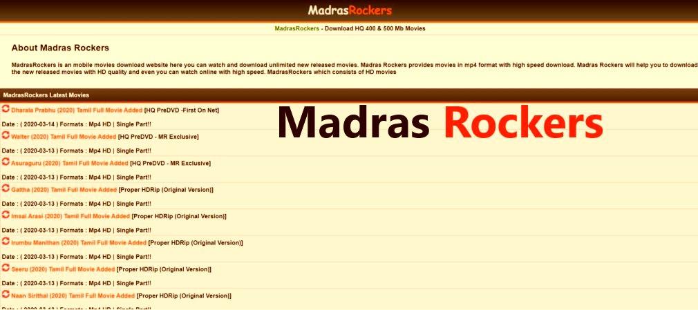 Madras Rockers