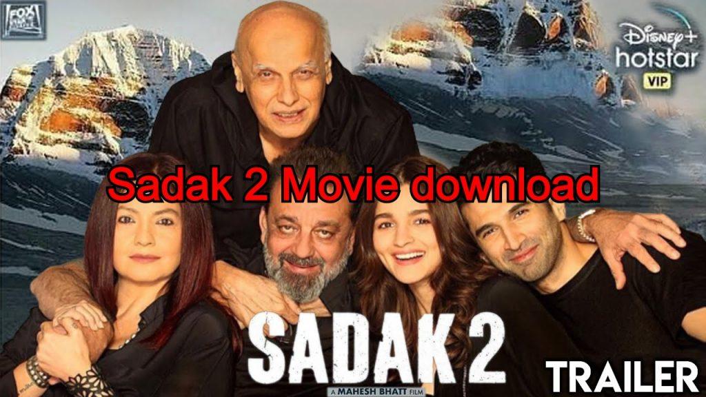 Sadak 2 Movie download