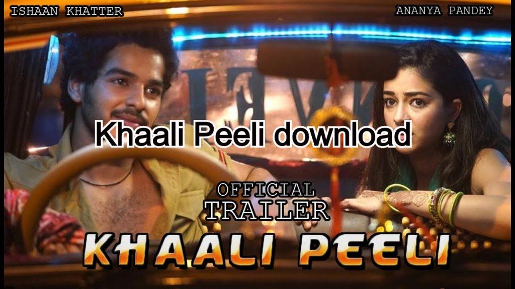 Khaali Peeli download